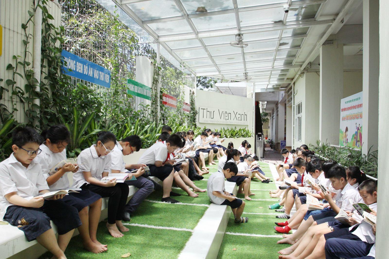 Lan tỏa văn hóa đọc trong nhà trường Ảnh 1