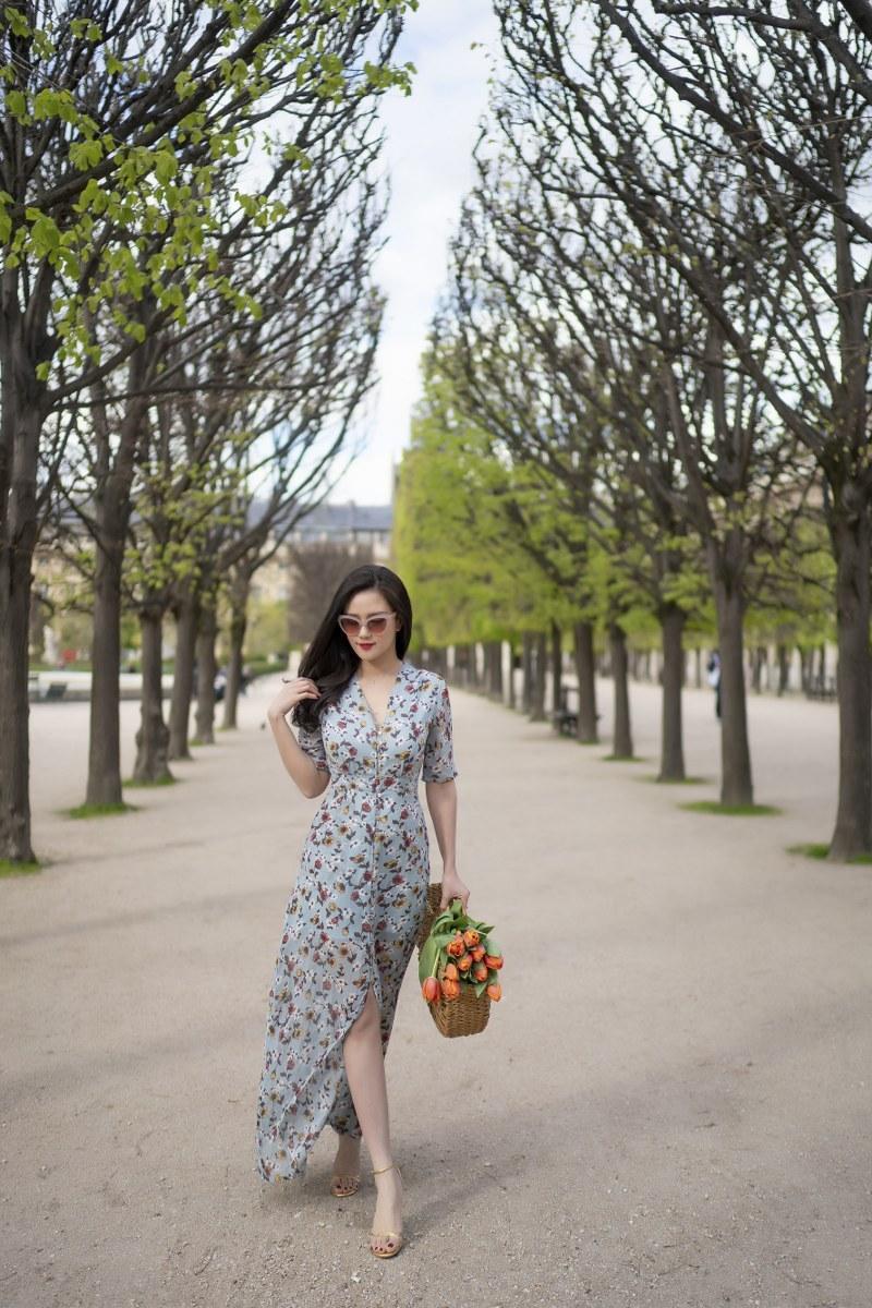 Những chiếc váy cực xinh cho nàng hạ cơn khát váy hoa mùa hè Ảnh 5