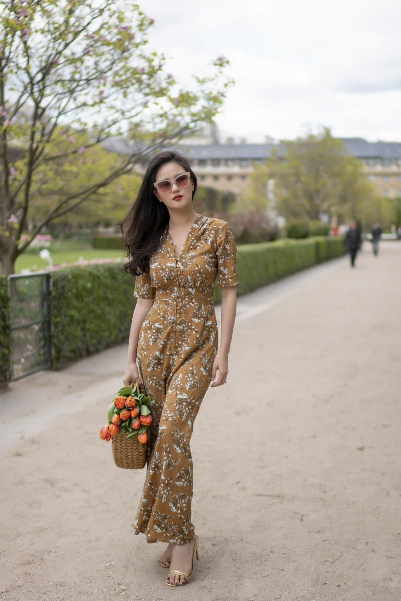 Những chiếc váy cực xinh cho nàng hạ cơn khát váy hoa mùa hè Ảnh 7