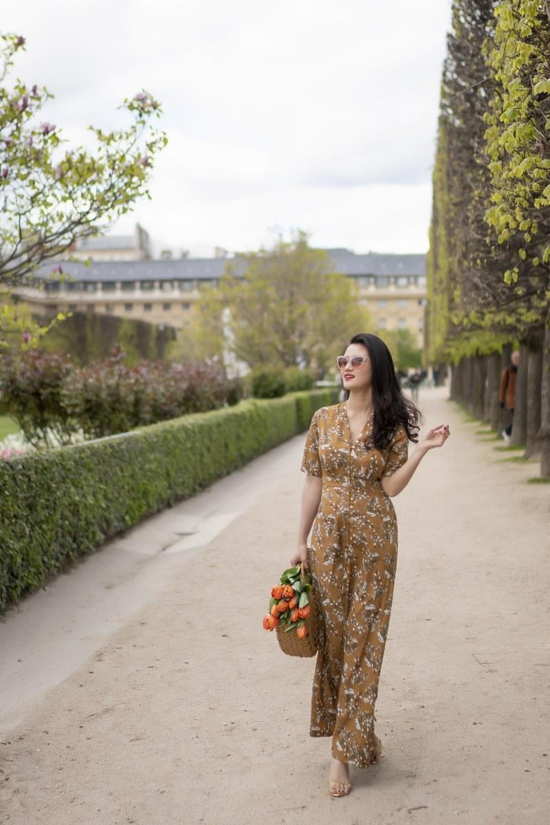 Những chiếc váy cực xinh cho nàng hạ cơn khát váy hoa mùa hè Ảnh 6