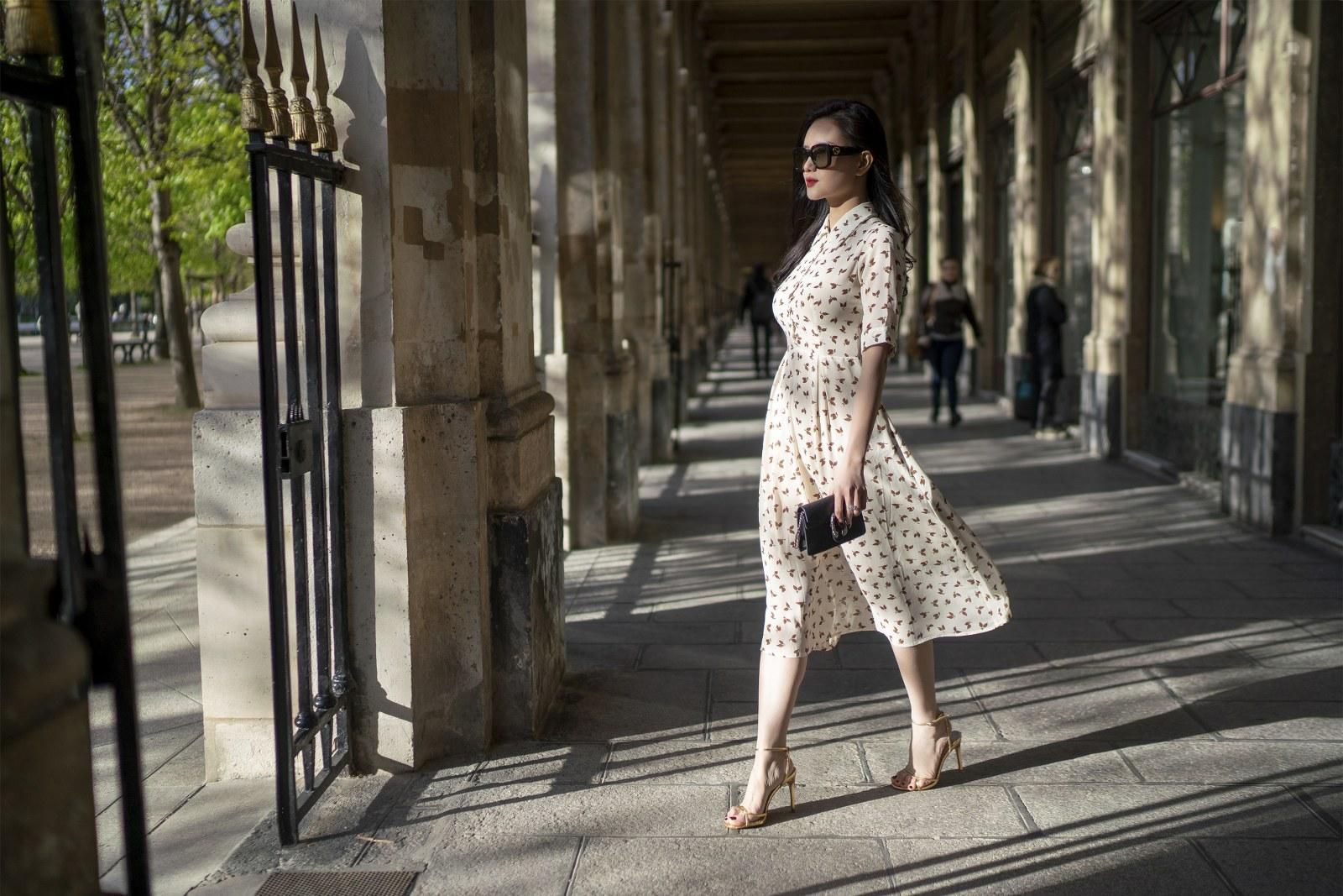 Những chiếc váy cực xinh cho nàng hạ cơn khát váy hoa mùa hè Ảnh 14