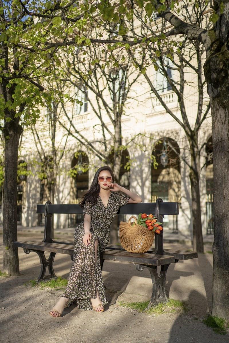 Những chiếc váy cực xinh cho nàng hạ cơn khát váy hoa mùa hè Ảnh 17