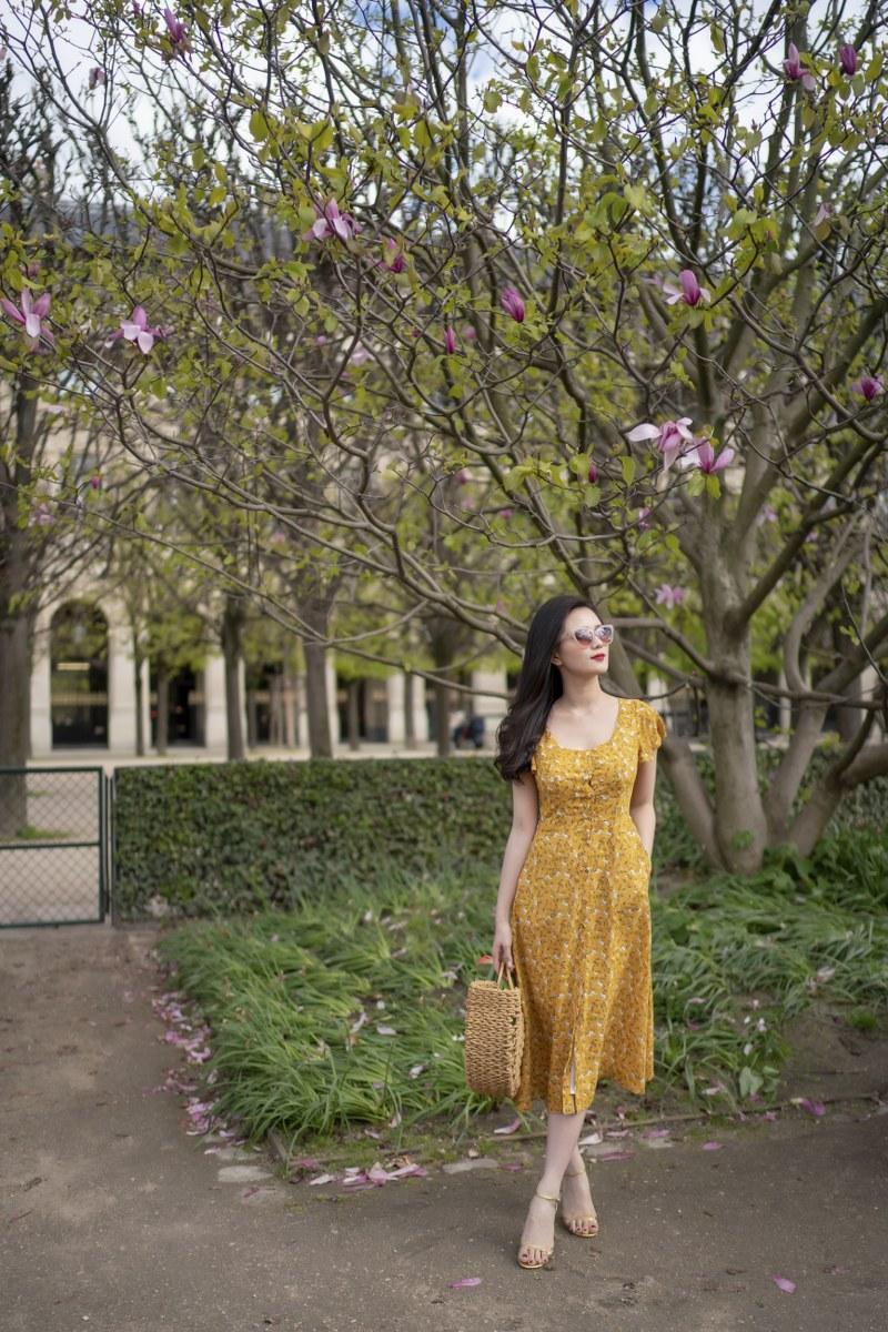 Những chiếc váy cực xinh cho nàng hạ cơn khát váy hoa mùa hè Ảnh 2