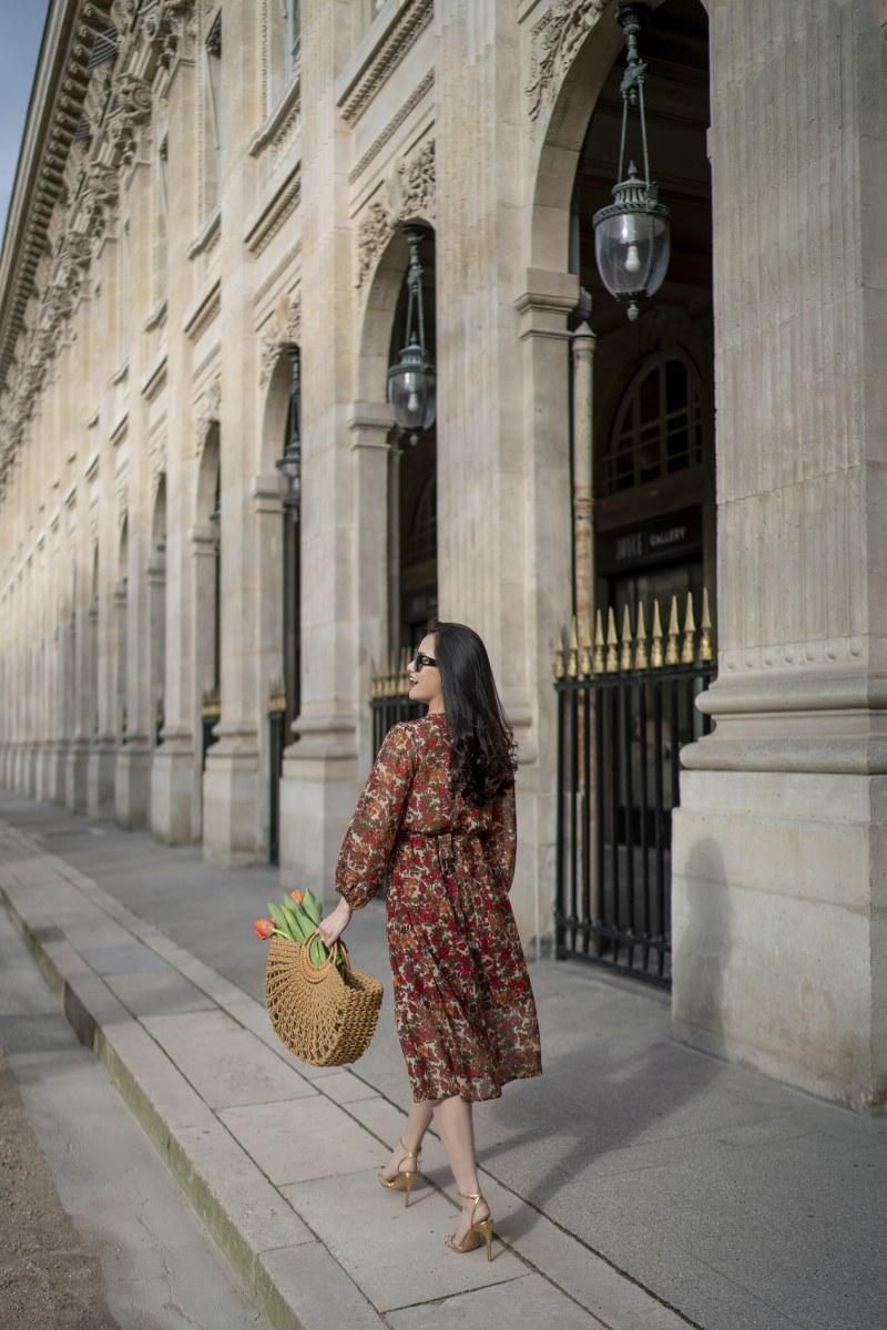 Những chiếc váy cực xinh cho nàng hạ cơn khát váy hoa mùa hè Ảnh 11