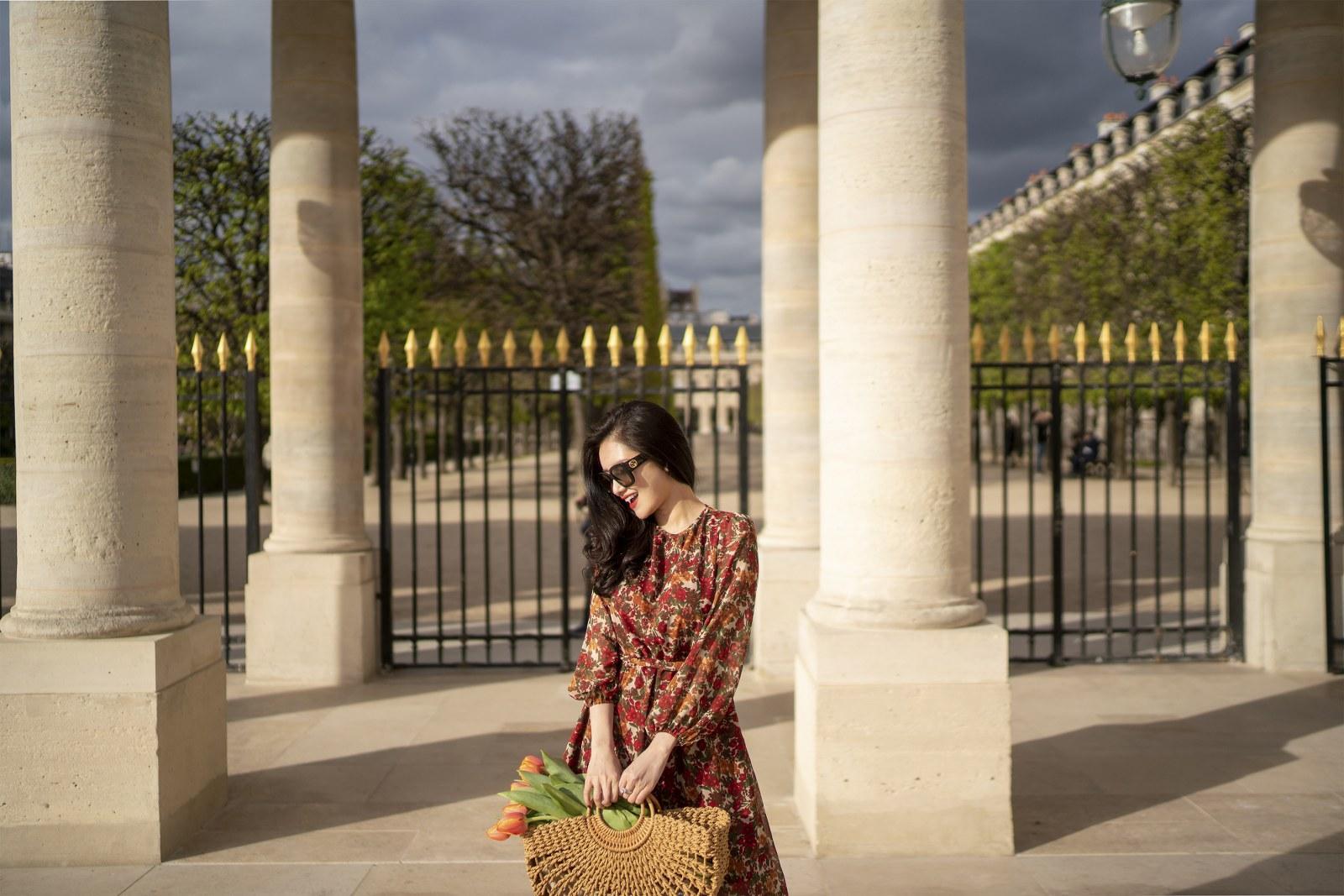 Những chiếc váy cực xinh cho nàng hạ cơn khát váy hoa mùa hè Ảnh 10