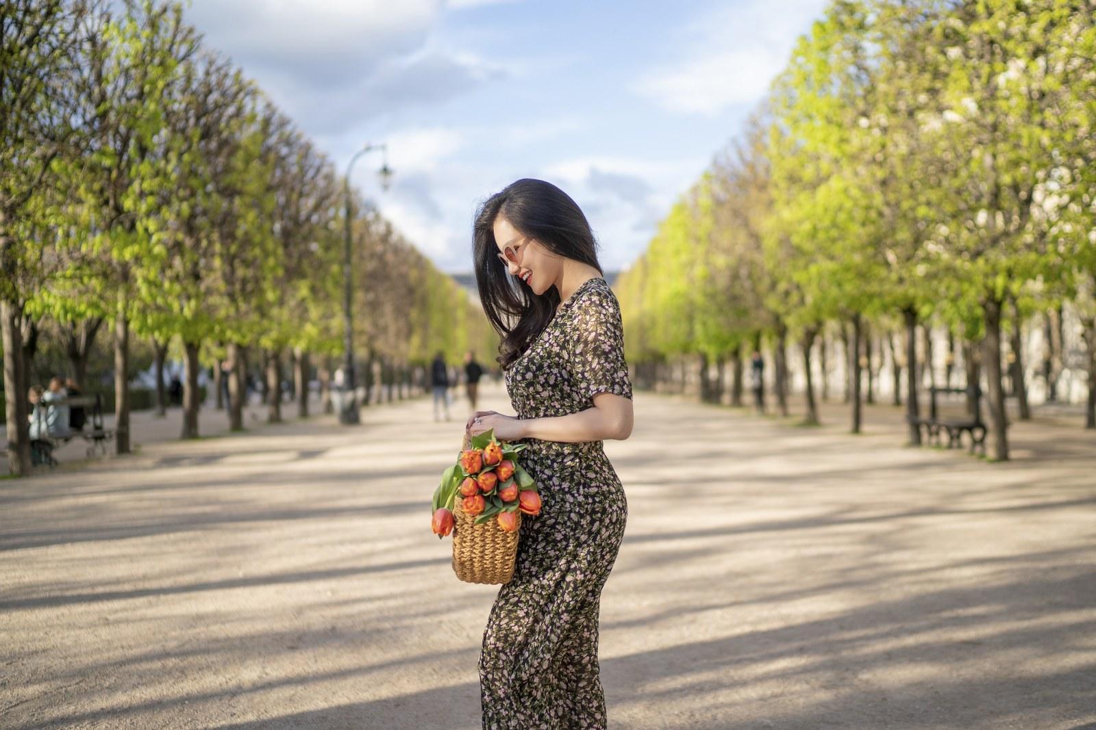 Những chiếc váy cực xinh cho nàng hạ cơn khát váy hoa mùa hè Ảnh 15