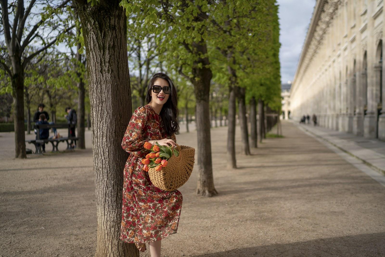 Những chiếc váy cực xinh cho nàng hạ cơn khát váy hoa mùa hè Ảnh 12