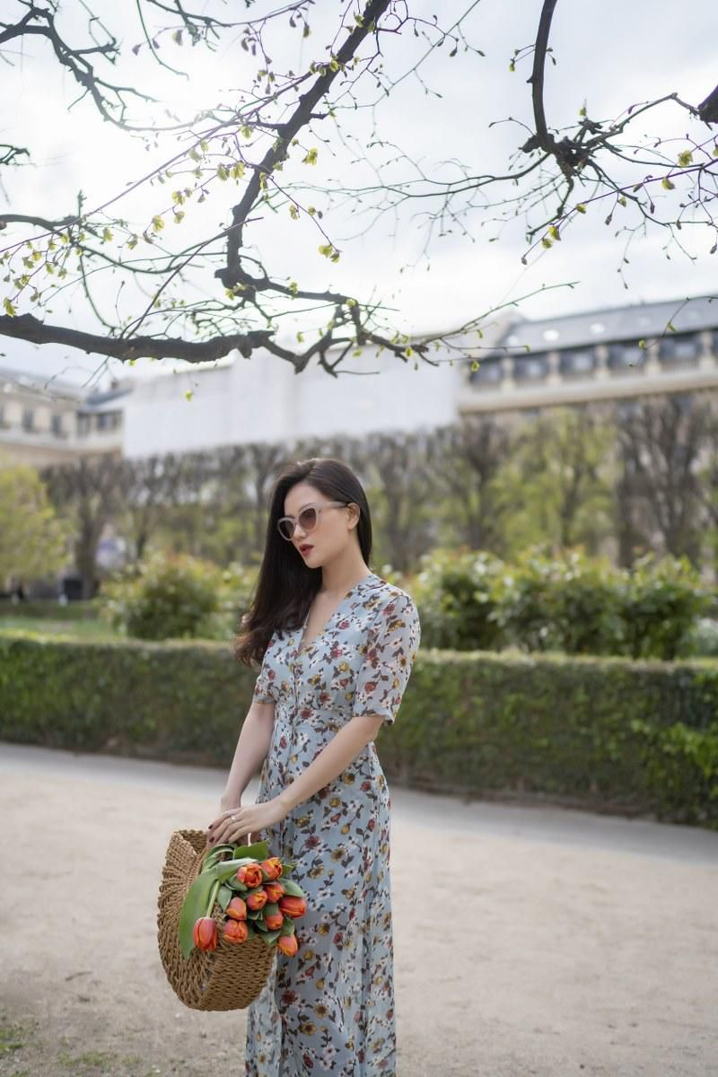 Những chiếc váy cực xinh cho nàng hạ cơn khát váy hoa mùa hè Ảnh 4