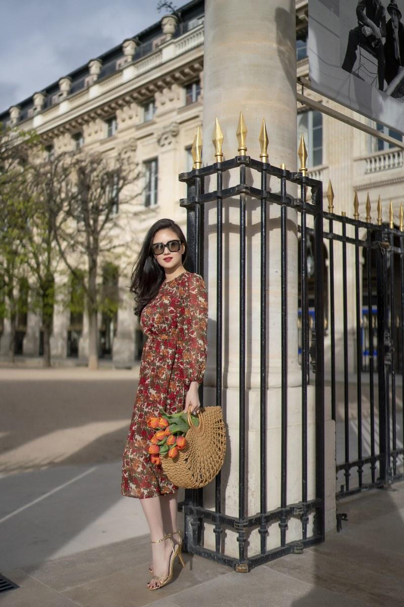 Những chiếc váy cực xinh cho nàng hạ cơn khát váy hoa mùa hè Ảnh 9