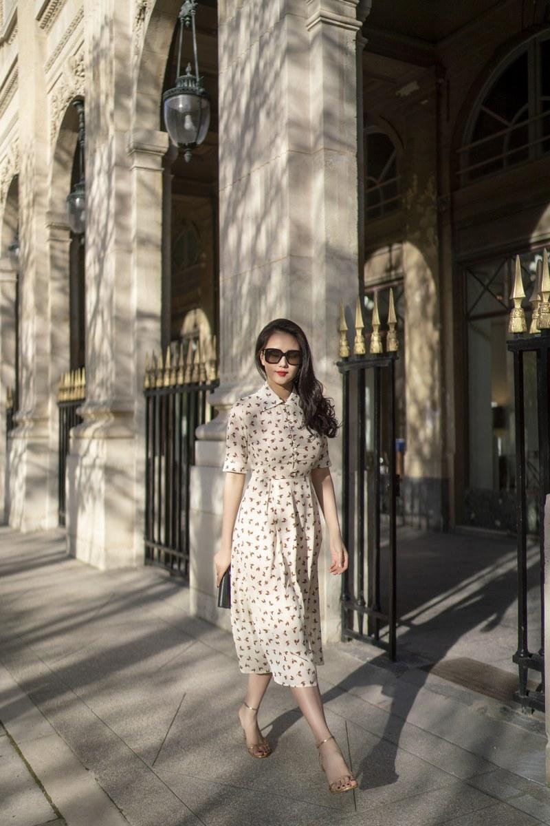 Những chiếc váy cực xinh cho nàng hạ cơn khát váy hoa mùa hè Ảnh 13