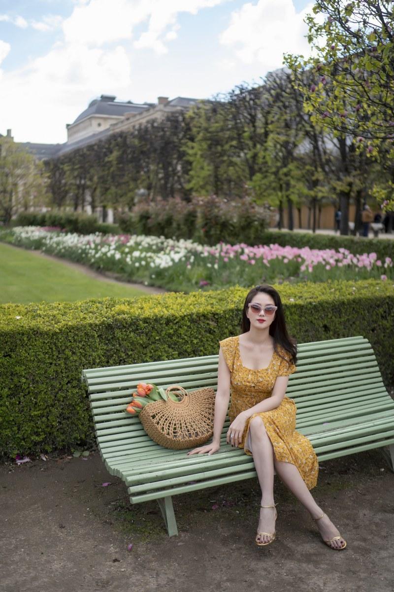 Những chiếc váy cực xinh cho nàng hạ cơn khát váy hoa mùa hè Ảnh 1
