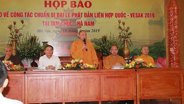 Đại lễ Vesak 2019: Khẳng định chính sách tự do tín ngưỡng, tôn giáo của Việt Nam Ảnh 1