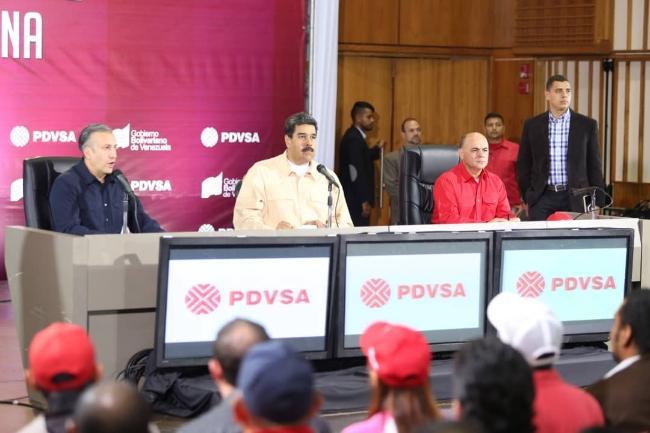 Venezuela lách trừng phạt của Mỹ bằng cách chuyển tiền bán dầu qua Nga Ảnh 1