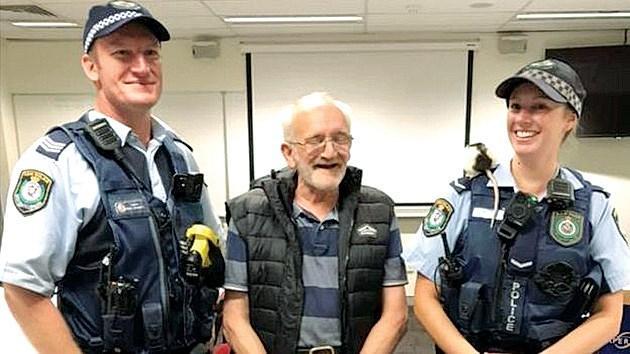 Cảnh sát tìm chuột cho người đàn ông vô gia cư Ảnh 1