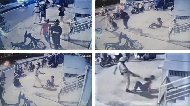 Hai thanh niên bị CSGT chĩa súng, đánh là 'quái xế' Ảnh 1