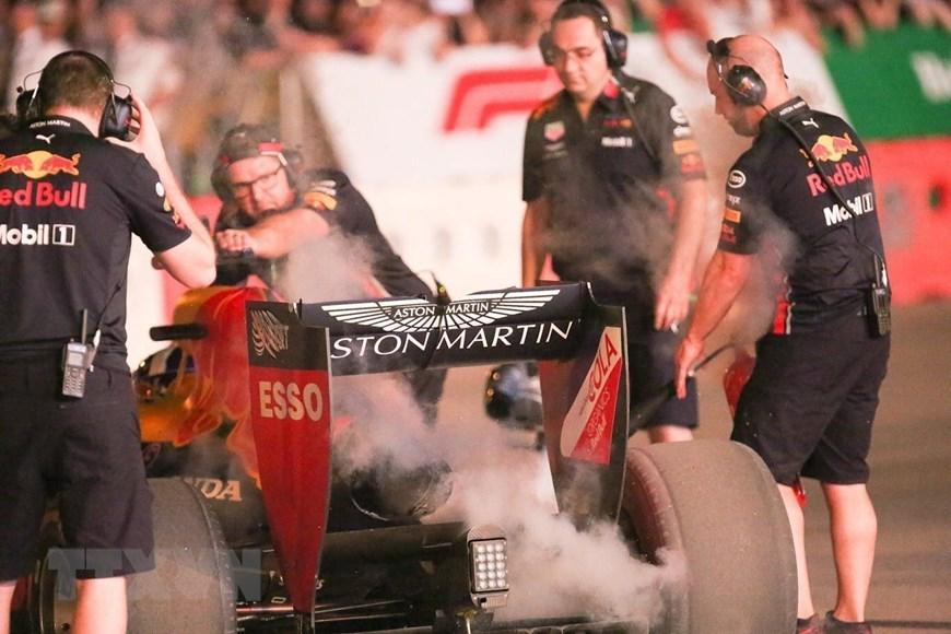 Tay đua Coulthard trình diễn tại 'Khởi động F1 Việt Nam Grand Prix' Ảnh 4