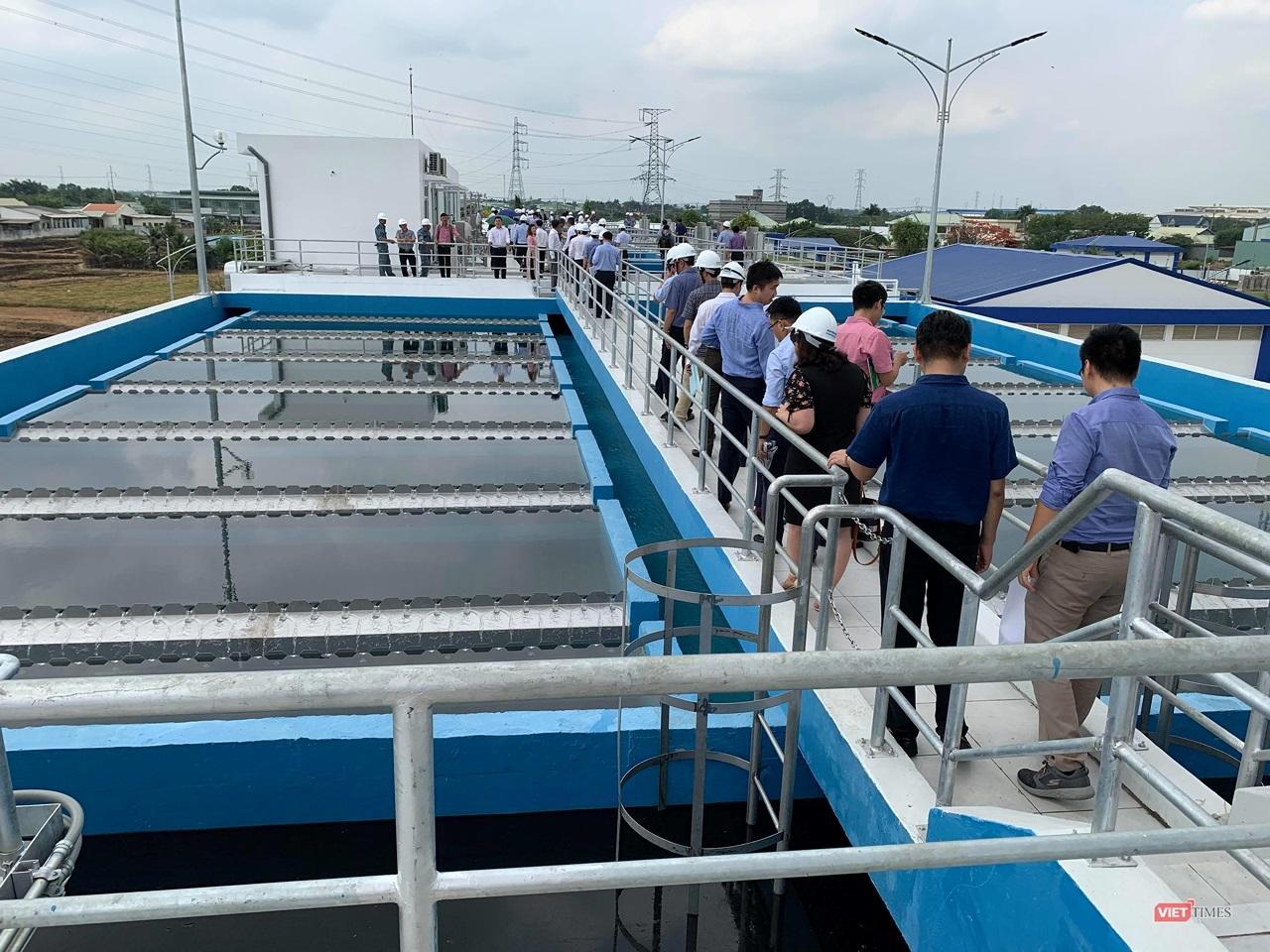 Khánh thành nhà máy nước sạch lớn nhất Đồng bằng Sông Cửu Long Ảnh 2