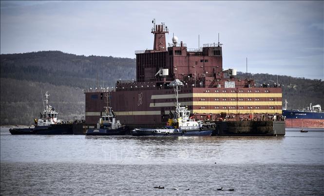Chạy thử thành công nhà máy điện hạt nhân nổi đầu tiên trên thế giới Ảnh 1