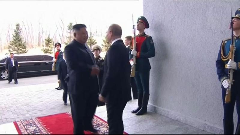 Lãnh đạo Nga và Triều Tiên sẽ tập trung giải quyết vấn đề hạt nhân Ảnh 2