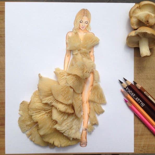 Những tuyệt tác váy dạ hội từ tâm hồn ăn uống nhất hệ mặt trời, fan yêu cầu hãy làm ngay bộ 'chè đậu' cho Hoàng Thùy Ảnh 9