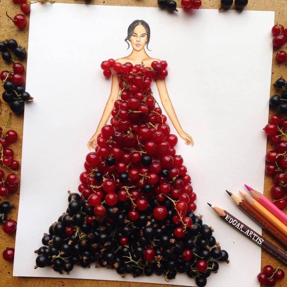 Những tuyệt tác váy dạ hội từ tâm hồn ăn uống nhất hệ mặt trời, fan yêu cầu hãy làm ngay bộ 'chè đậu' cho Hoàng Thùy Ảnh 8