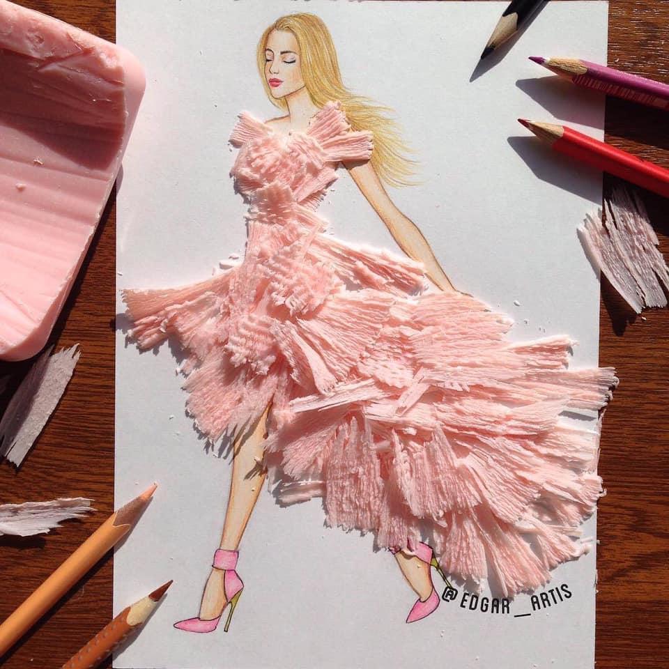 Những tuyệt tác váy dạ hội từ tâm hồn ăn uống nhất hệ mặt trời, fan yêu cầu hãy làm ngay bộ 'chè đậu' cho Hoàng Thùy Ảnh 22