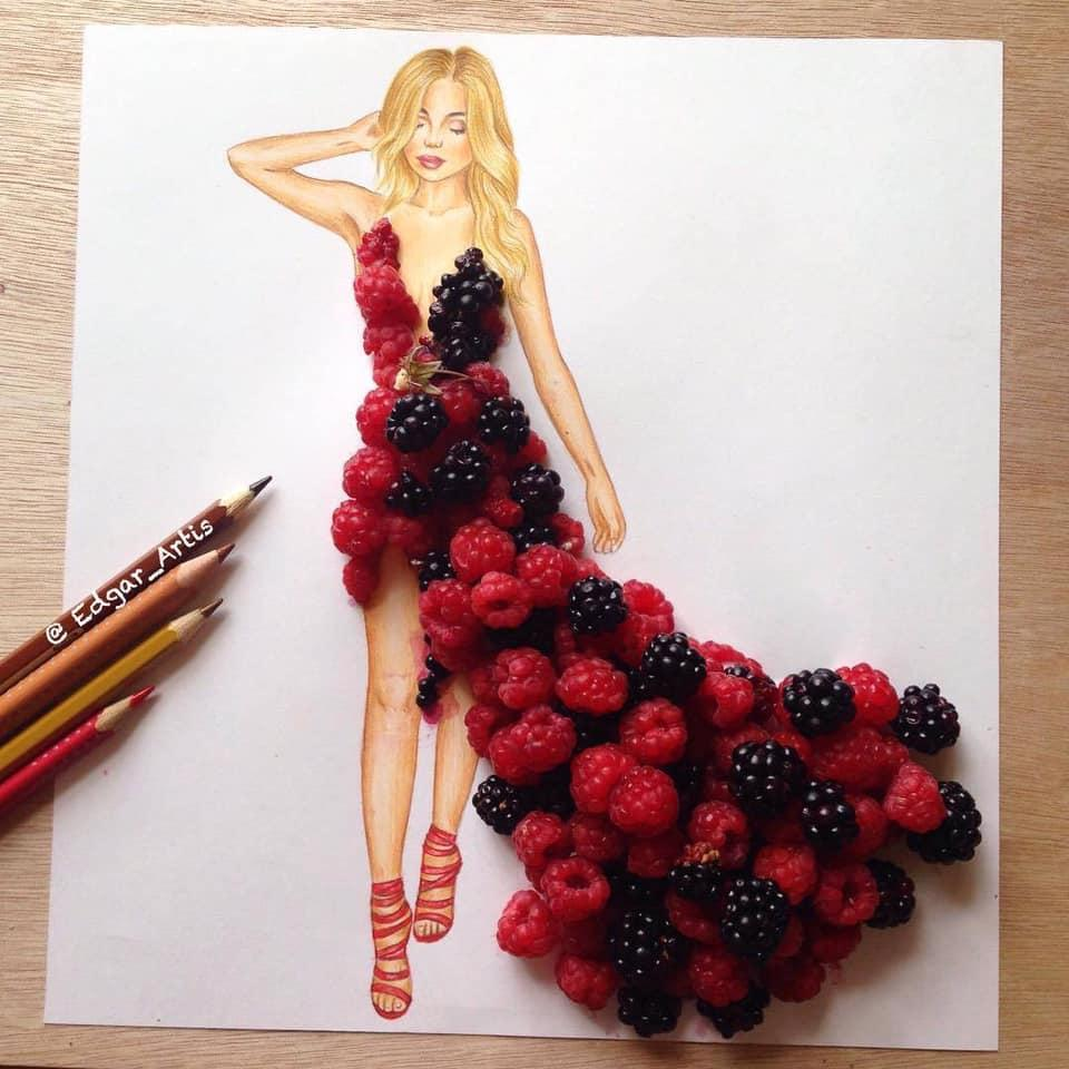 Những tuyệt tác váy dạ hội từ tâm hồn ăn uống nhất hệ mặt trời, fan yêu cầu hãy làm ngay bộ 'chè đậu' cho Hoàng Thùy Ảnh 6