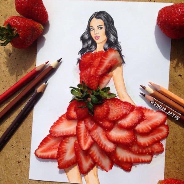 Những tuyệt tác váy dạ hội từ tâm hồn ăn uống nhất hệ mặt trời, fan yêu cầu hãy làm ngay bộ 'chè đậu' cho Hoàng Thùy Ảnh 15
