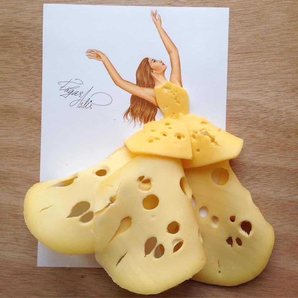 Những tuyệt tác váy dạ hội từ tâm hồn ăn uống nhất hệ mặt trời, fan yêu cầu hãy làm ngay bộ 'chè đậu' cho Hoàng Thùy Ảnh 11