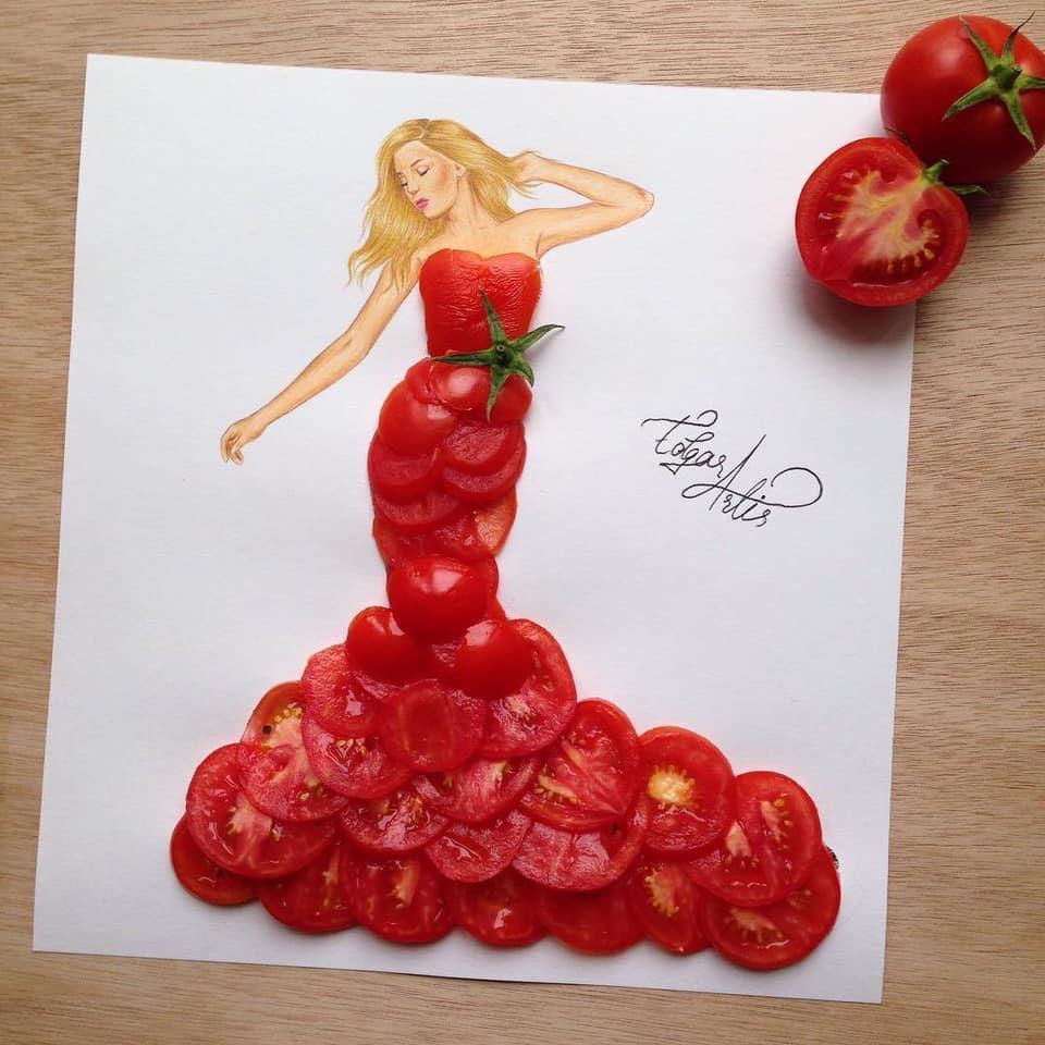 Những tuyệt tác váy dạ hội từ tâm hồn ăn uống nhất hệ mặt trời, fan yêu cầu hãy làm ngay bộ 'chè đậu' cho Hoàng Thùy Ảnh 1
