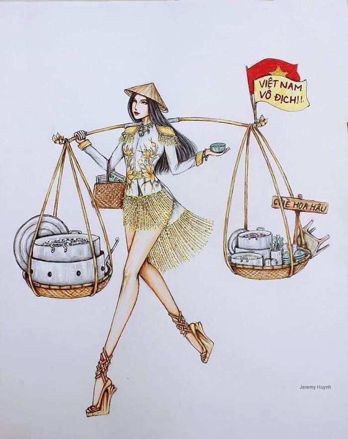 Những tuyệt tác váy dạ hội từ tâm hồn ăn uống nhất hệ mặt trời, fan yêu cầu hãy làm ngay bộ 'chè đậu' cho Hoàng Thùy Ảnh 25