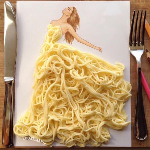 Những tuyệt tác váy dạ hội từ tâm hồn ăn uống nhất hệ mặt trời, fan yêu cầu hãy làm ngay bộ 'chè đậu' cho Hoàng Thùy Ảnh 24