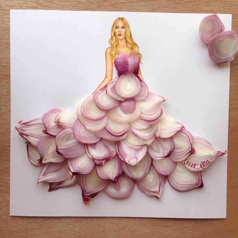 Những tuyệt tác váy dạ hội từ tâm hồn ăn uống nhất hệ mặt trời, fan yêu cầu hãy làm ngay bộ 'chè đậu' cho Hoàng Thùy Ảnh 10