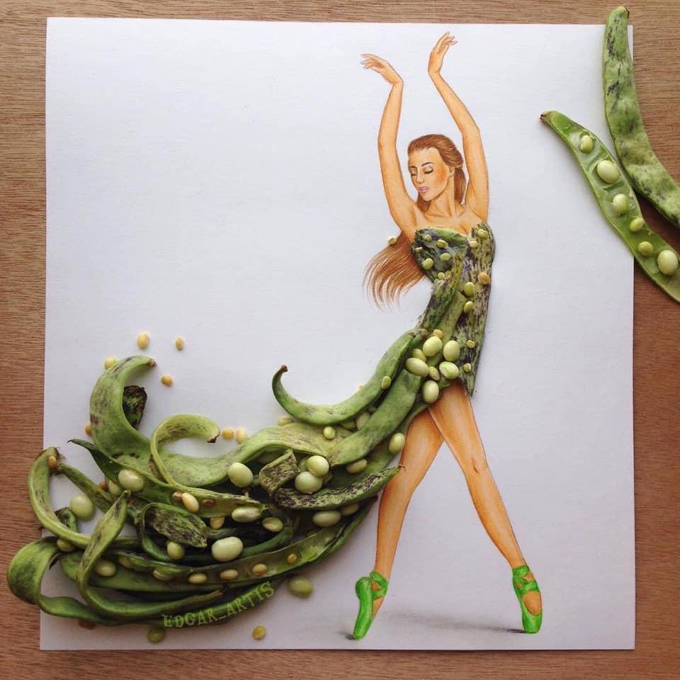 Những tuyệt tác váy dạ hội từ tâm hồn ăn uống nhất hệ mặt trời, fan yêu cầu hãy làm ngay bộ 'chè đậu' cho Hoàng Thùy Ảnh 4