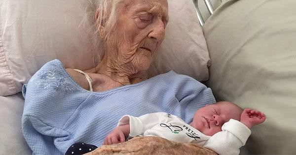 Cụ bà 101 tuổi hạ sinh đứa con thứ 17 Ảnh 1