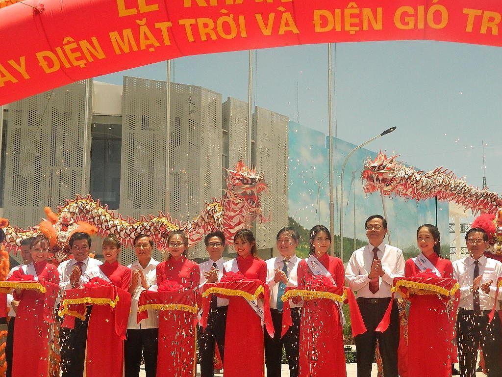 Khánh thành tổ hợp năng lượng tái tạo lớn nhất Việt Nam Ảnh 2