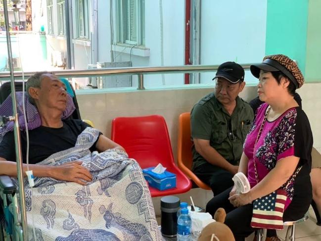 Rơi nước mắt khi nghe nghệ sĩ Lê Bình trò chuyện với con gái trong bệnh viện Ảnh 2