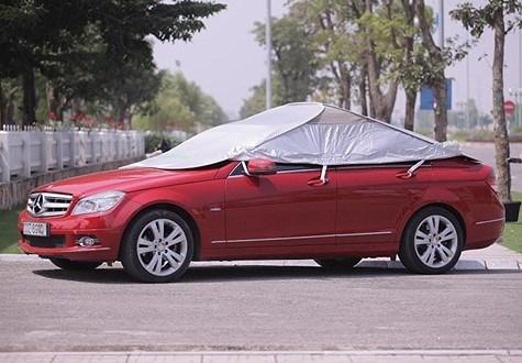 Lốp xe dễ bị nổ khi đậu ô tô ngoài trời nắng nóng Ảnh 1