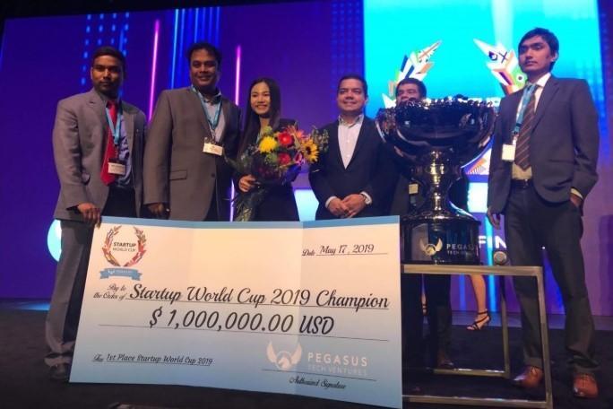 Startup thuần Việt đầu tiên vô địch thế giới, giành giải thưởng 1 triệu USD Ảnh 1