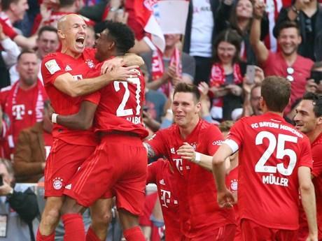 Bundesliga hạ mạn: Bayern Munich vô địch lần thứ 7 liên tiếp ảnh 1
