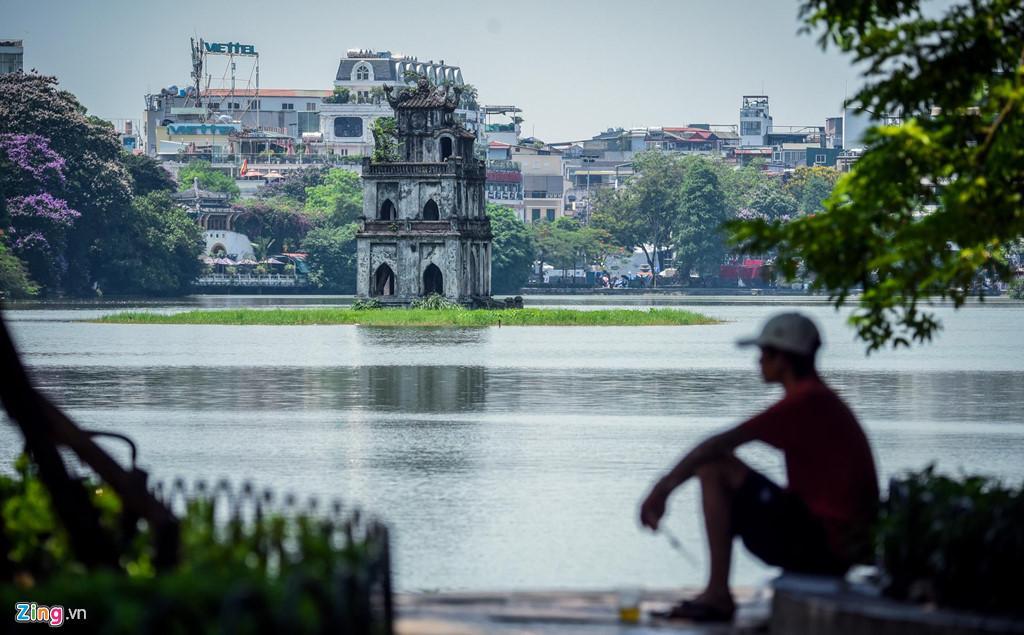 Những tuyến phố chống oi bức ngày nóng 40 độ C ở Hà Nội Ảnh 4