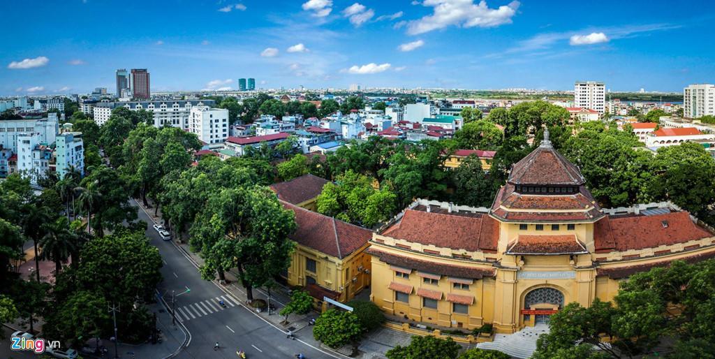 Những tuyến phố chống oi bức ngày nóng 40 độ C ở Hà Nội Ảnh 6
