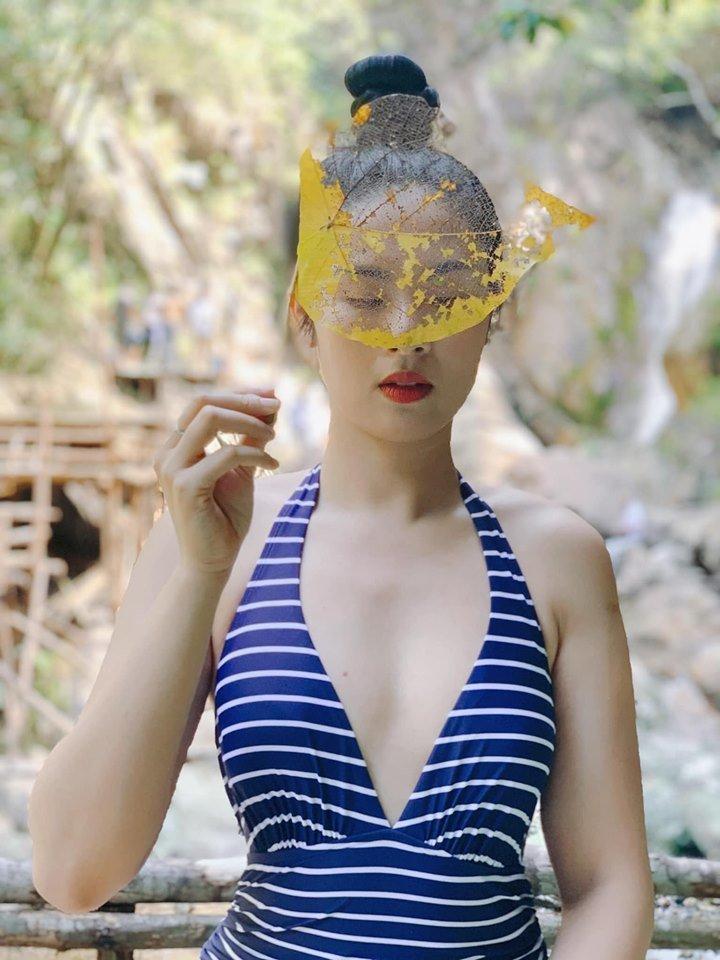 Hoa hậu Ngọc Hân mặc bikini khoe body 'cực phẩm' trong cái nắng 40 độ C Ảnh 3