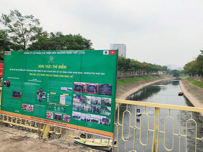 Chuyên gia vẫn hoài nghi về công nghệ xử lý ô nhiễm sông Tô Lịch Ảnh 2
