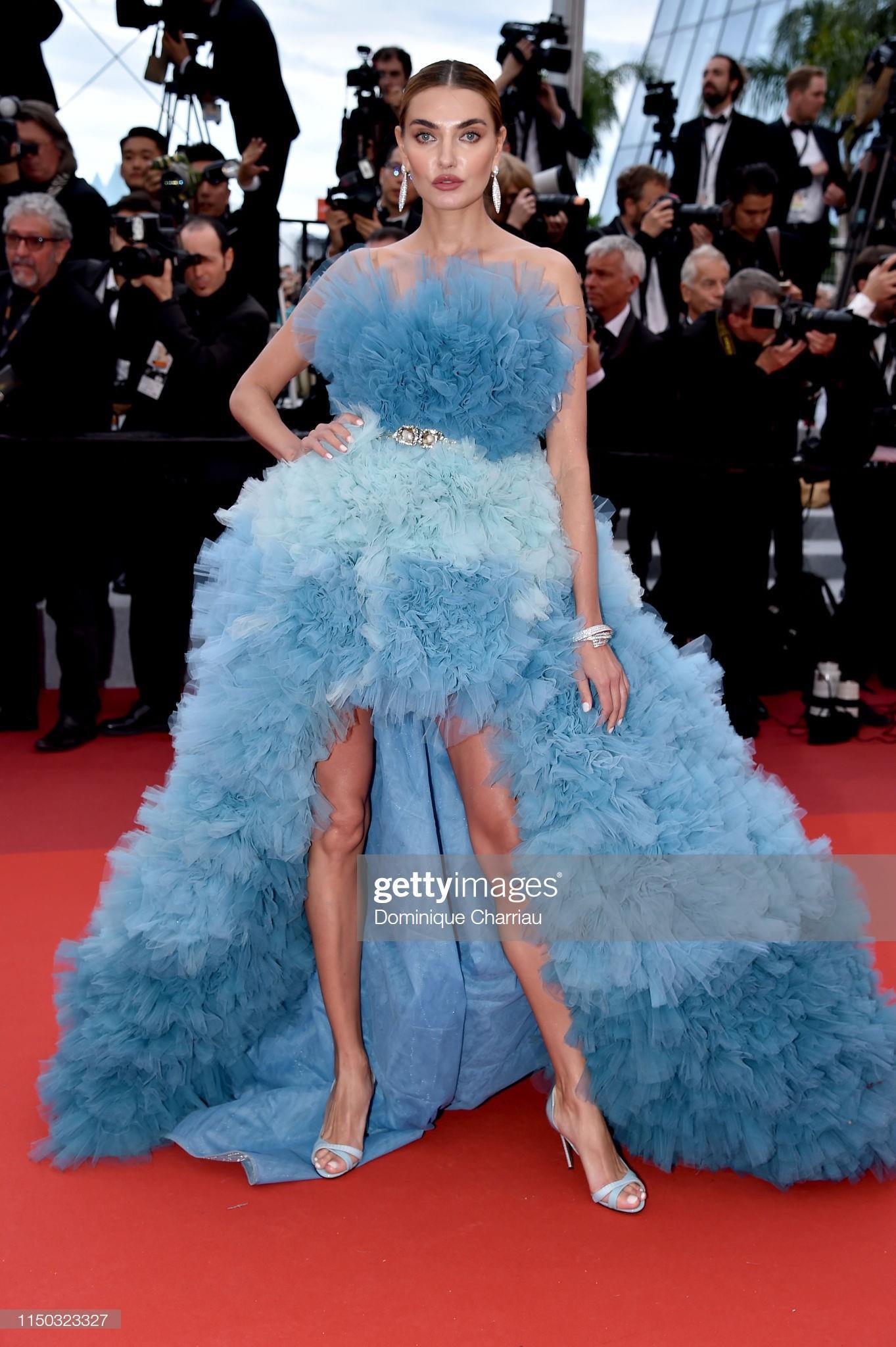 Những bộ váy cồng kềnh nhất thảm đỏ Cannes 2019 Ảnh 7