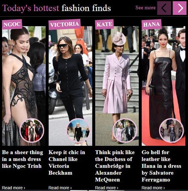 Ngọc Trinh bị báo Anh chế giễu vì 'váy nhìn thấy hết mọi thứ' ở LHP Cannes Ảnh 1
