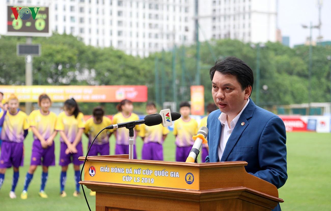 Hà Nội thắng giòn giã trong ngày khai mạc giải Nữ Cúp Quốc Gia 2019 Ảnh 4