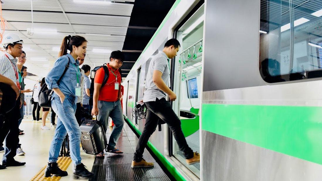 Người dân sẽ đi như thế nào khi đường sắt Cát Linh - Hà Đông hoạt động? Ảnh 1