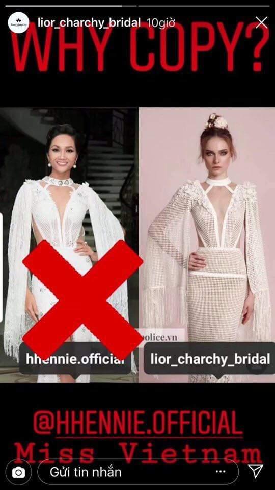 Stylist nói gì khi H'hen Niê bị thương hiệu nước ngoài tố mặc váy nhái? Ảnh 1