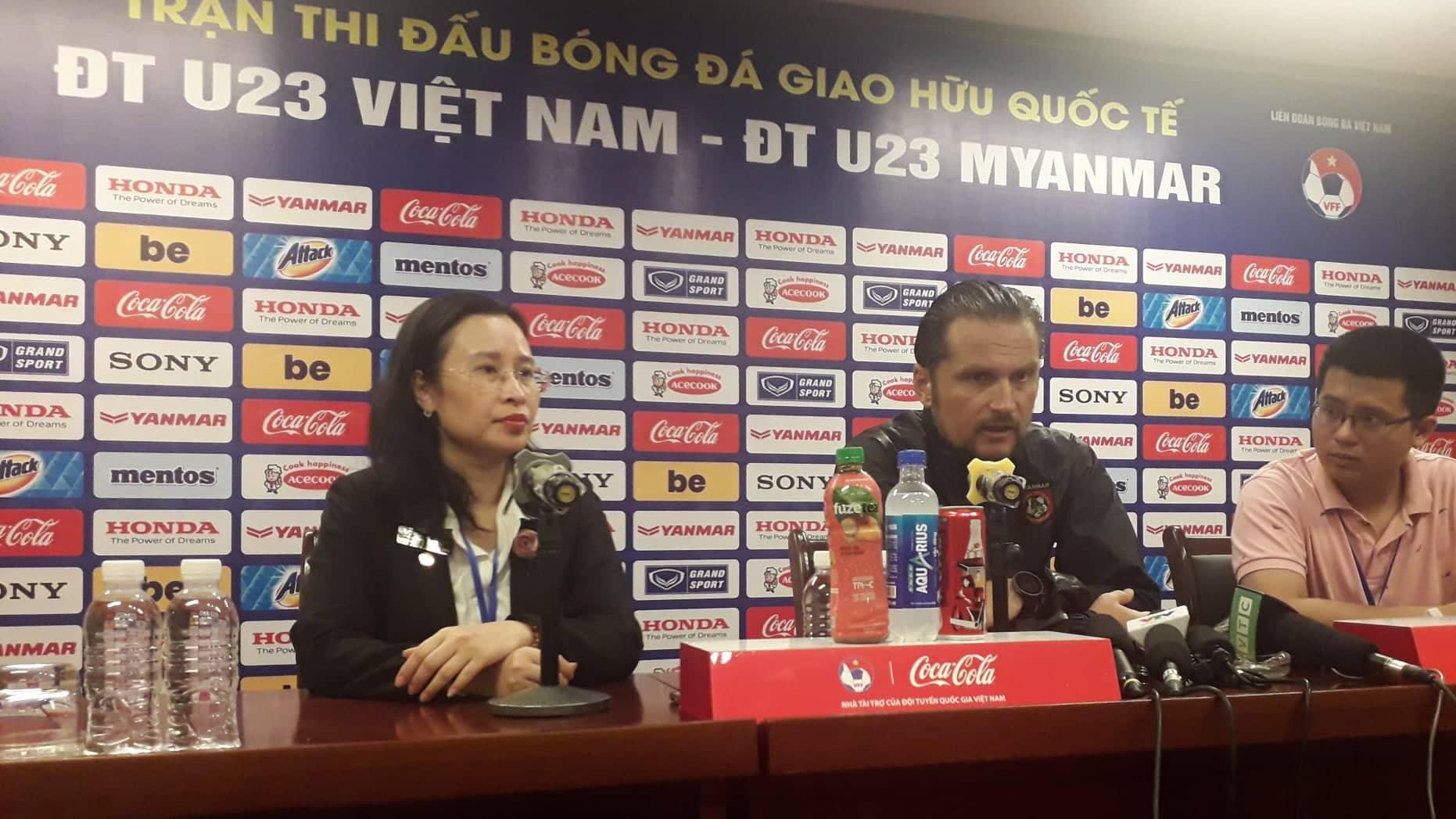 HLV U23 Myanmar phát biểu bất ngờ sau khi thua tâm phục U23 Việt Nam Ảnh 2